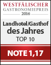 Westfalen Gastronomiepreis 2016