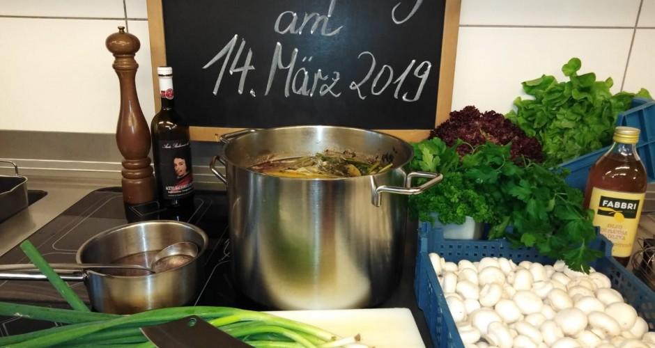 Küchenparty am 14. März 2019